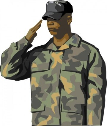 Veterans clipart military. Free army veteran and