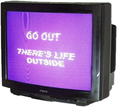 Vhs glitch png. Tv television life outside