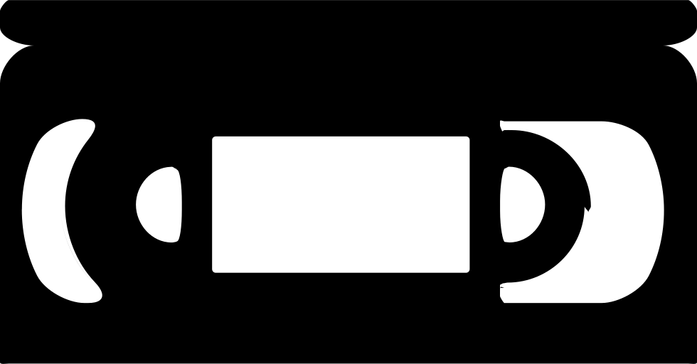 Vhs play button png. Tape svg icon free