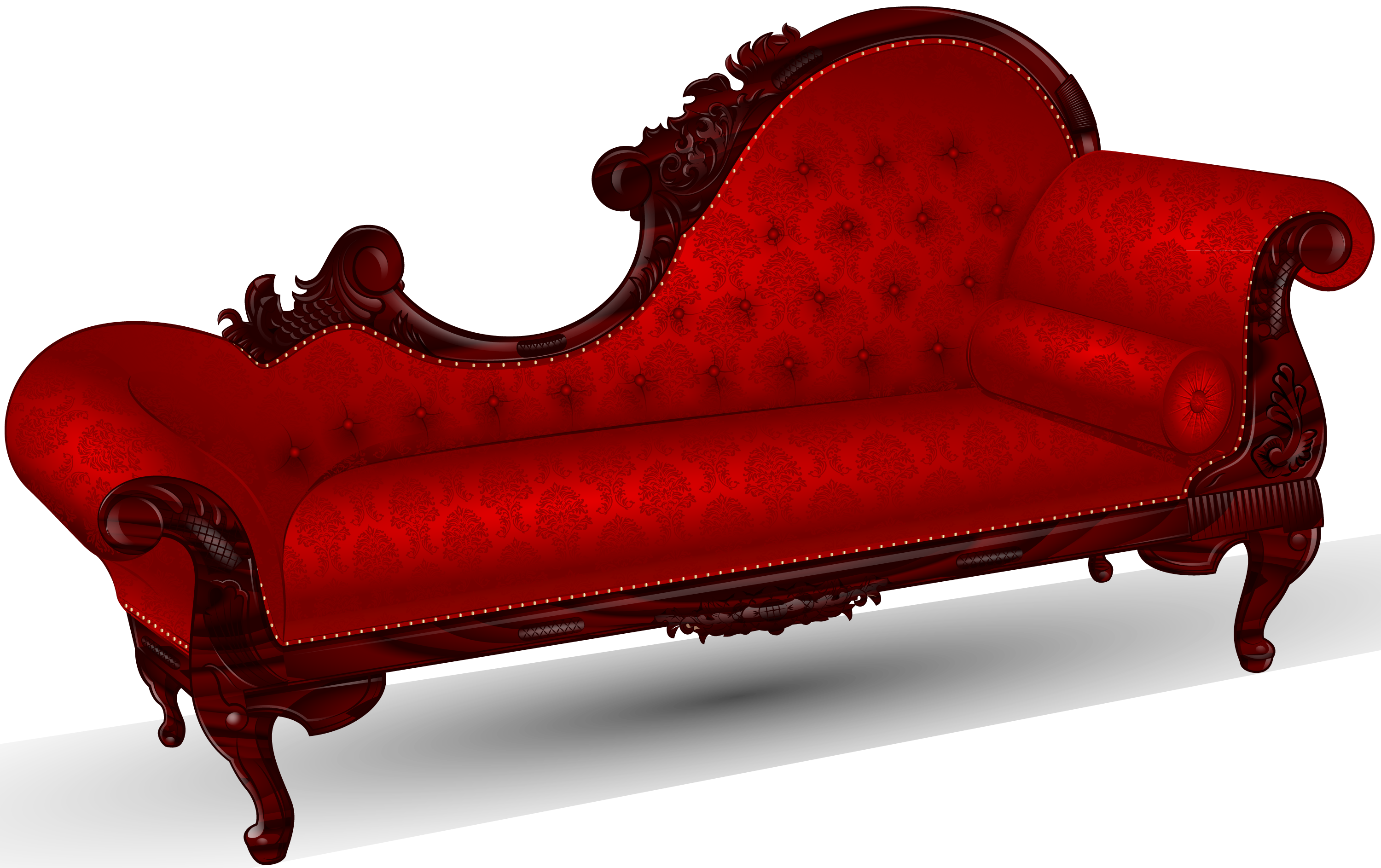 Transparent Couch Antique Transparent Png Clipart Free Download