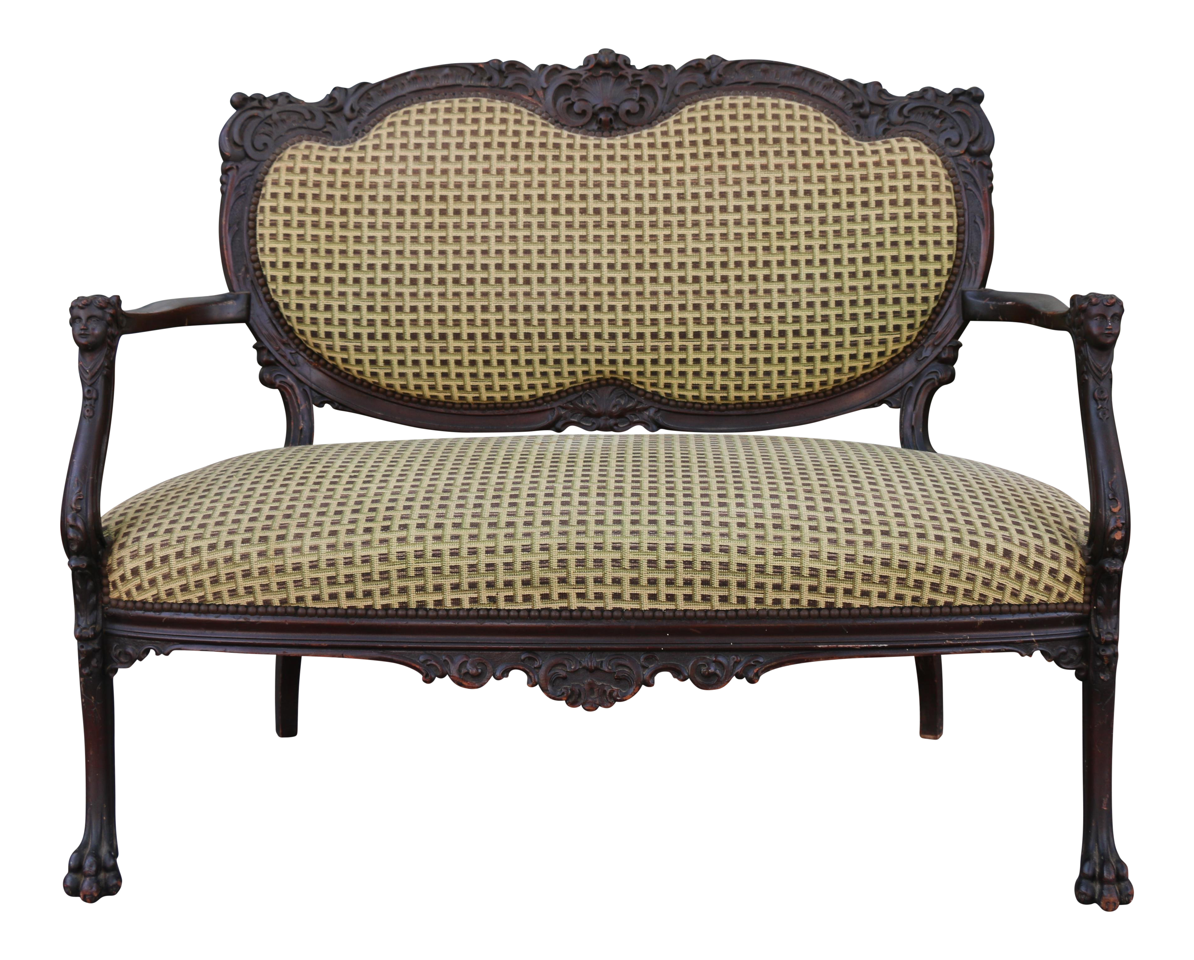 Victorian Couch Transparent Png Clipart Free Download Ya Webdesign