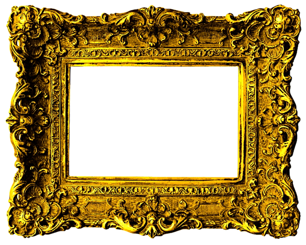 Victorian frame png. Beautiful gold by jeanicebartzen