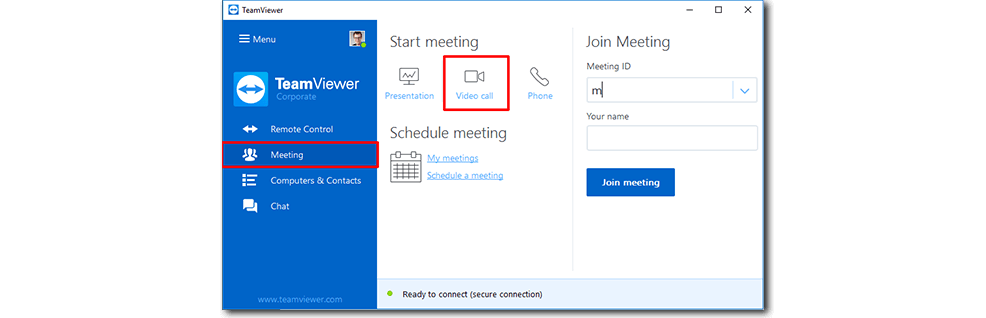 Teamviewer calls easily be. Video call snapshot 3 png image