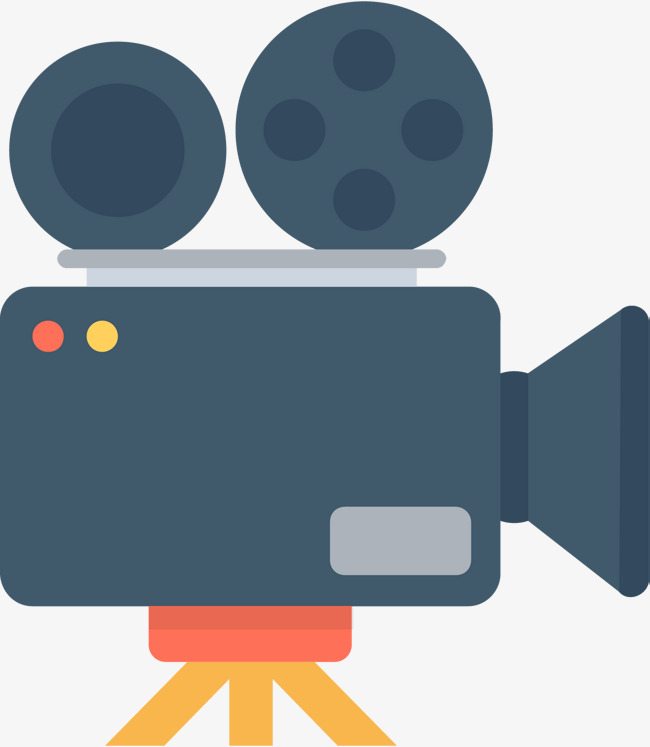 Video cartoon. Live hd camera clipart