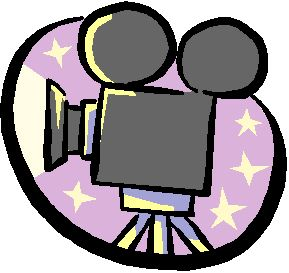 Video cartoon. Free camera cliparts download