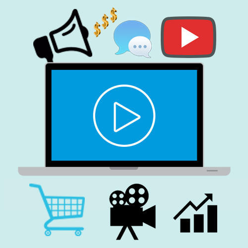 Video clipart electronic media. Advertising service services