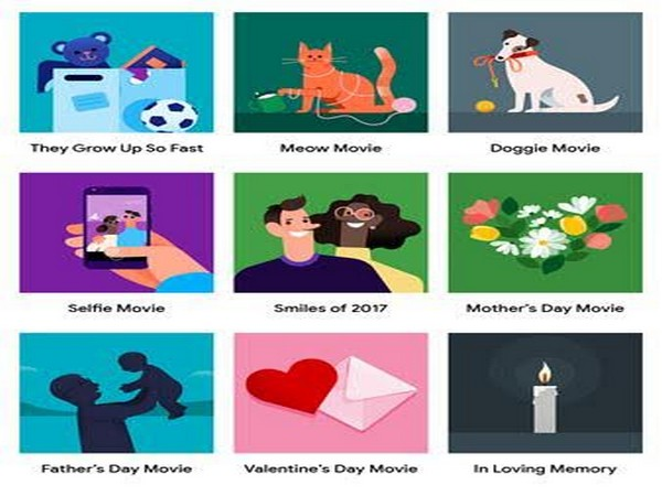 Video clipart movie day. Use google photos to