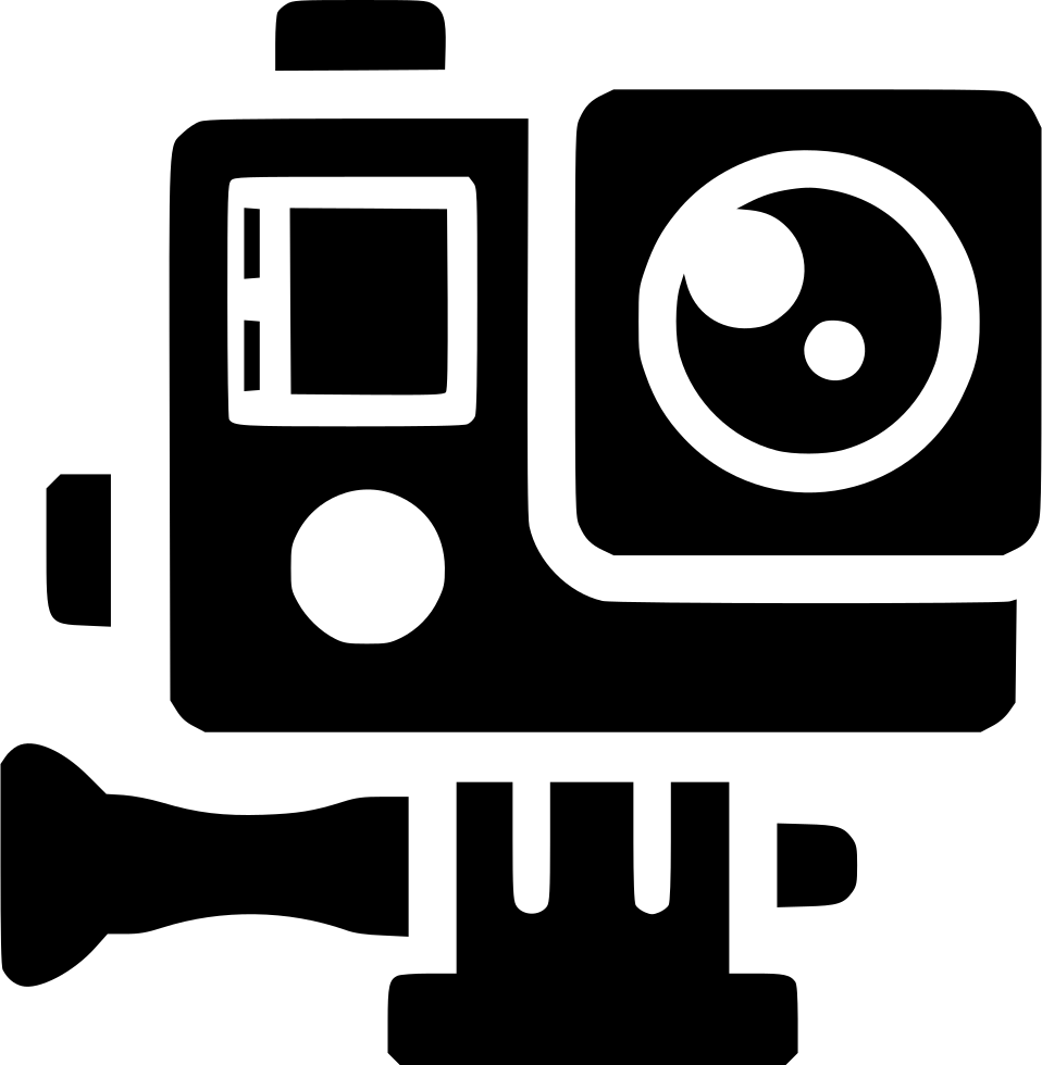 Video clips png. Gopro camera extreme svg