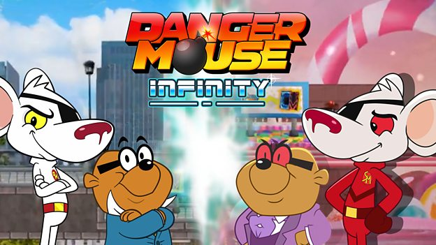 Video dangermouse. Danger mouse infinity games