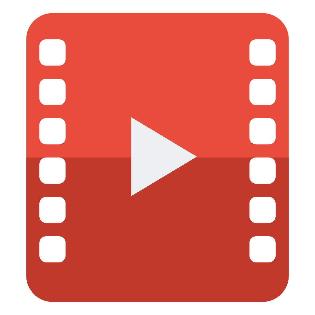 Video icon png. File small flat iconset
