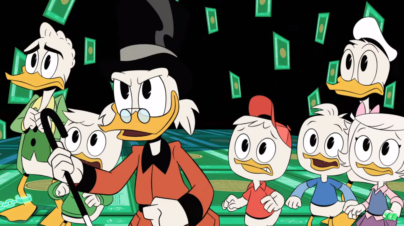Video ducktales. Coming this season on