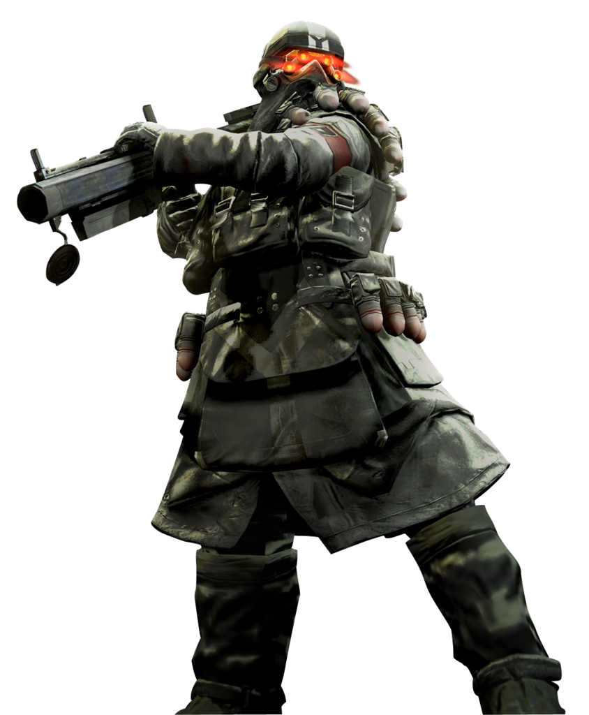 Video game renders png. Killzone shadow fall halo