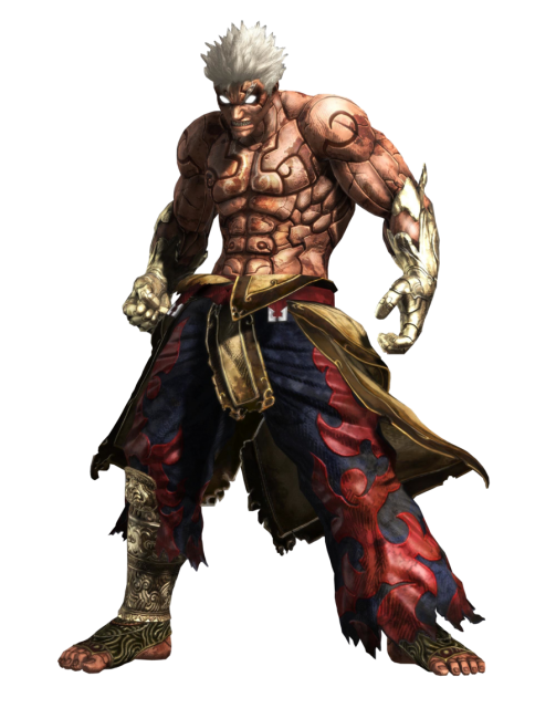 Video games characters png. The strongest game asura