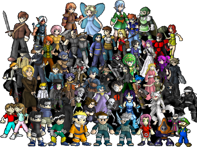 Video games characters png. Game by aggiepuff on