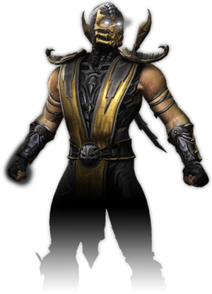 Video games characters png. Image scorpion game wiki