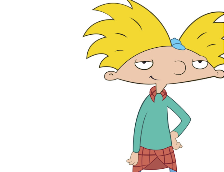 Video hey arnold. S greatest fashion moments