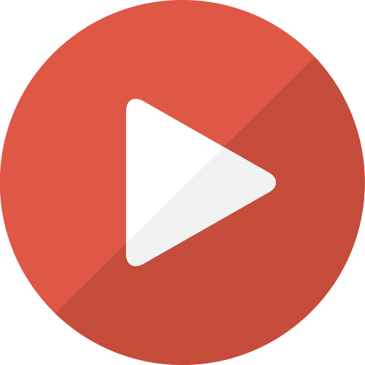 Play video icon png transparent