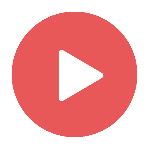 Video play button transparent png. Red website beauty by