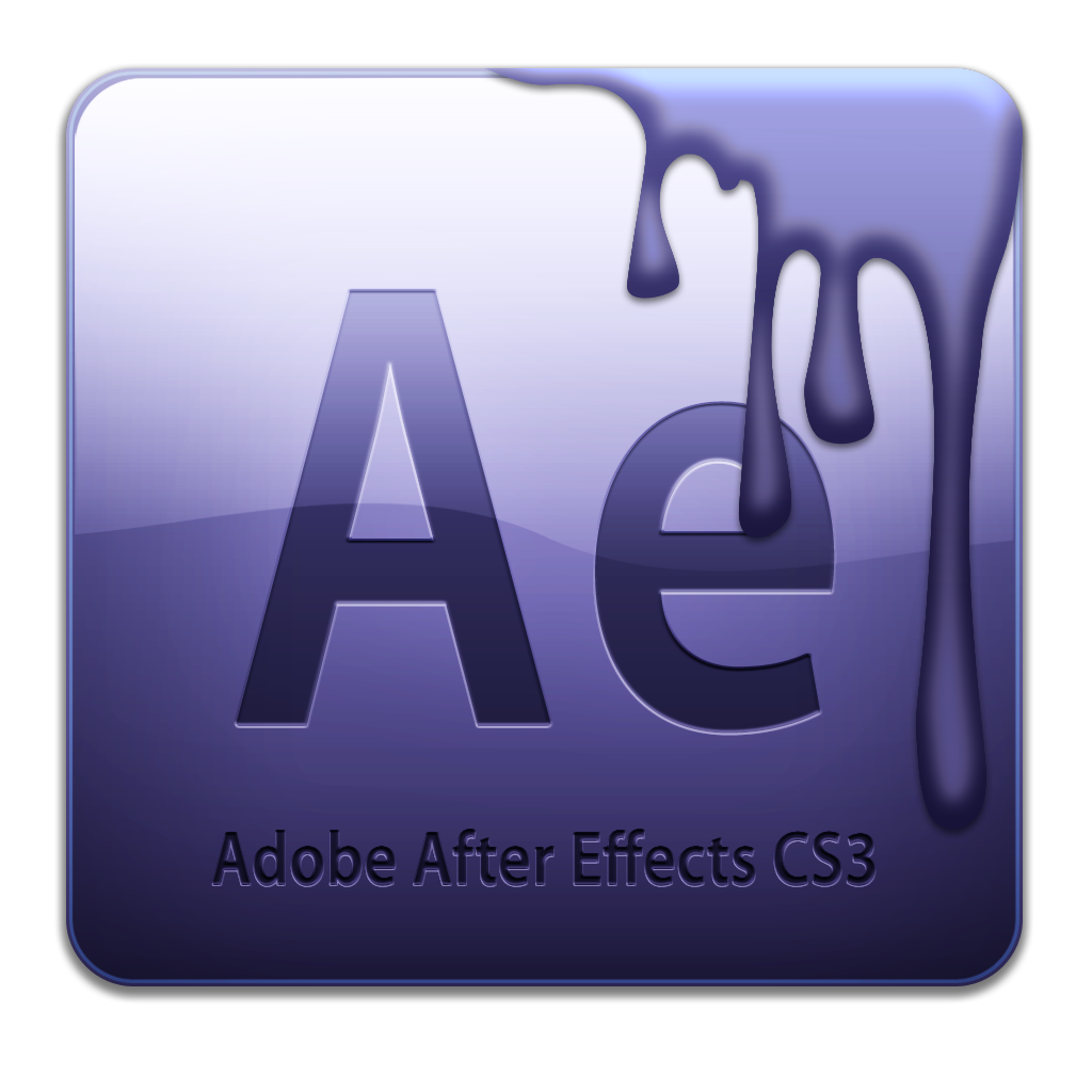 Video png after effects. Adobe cs icon free