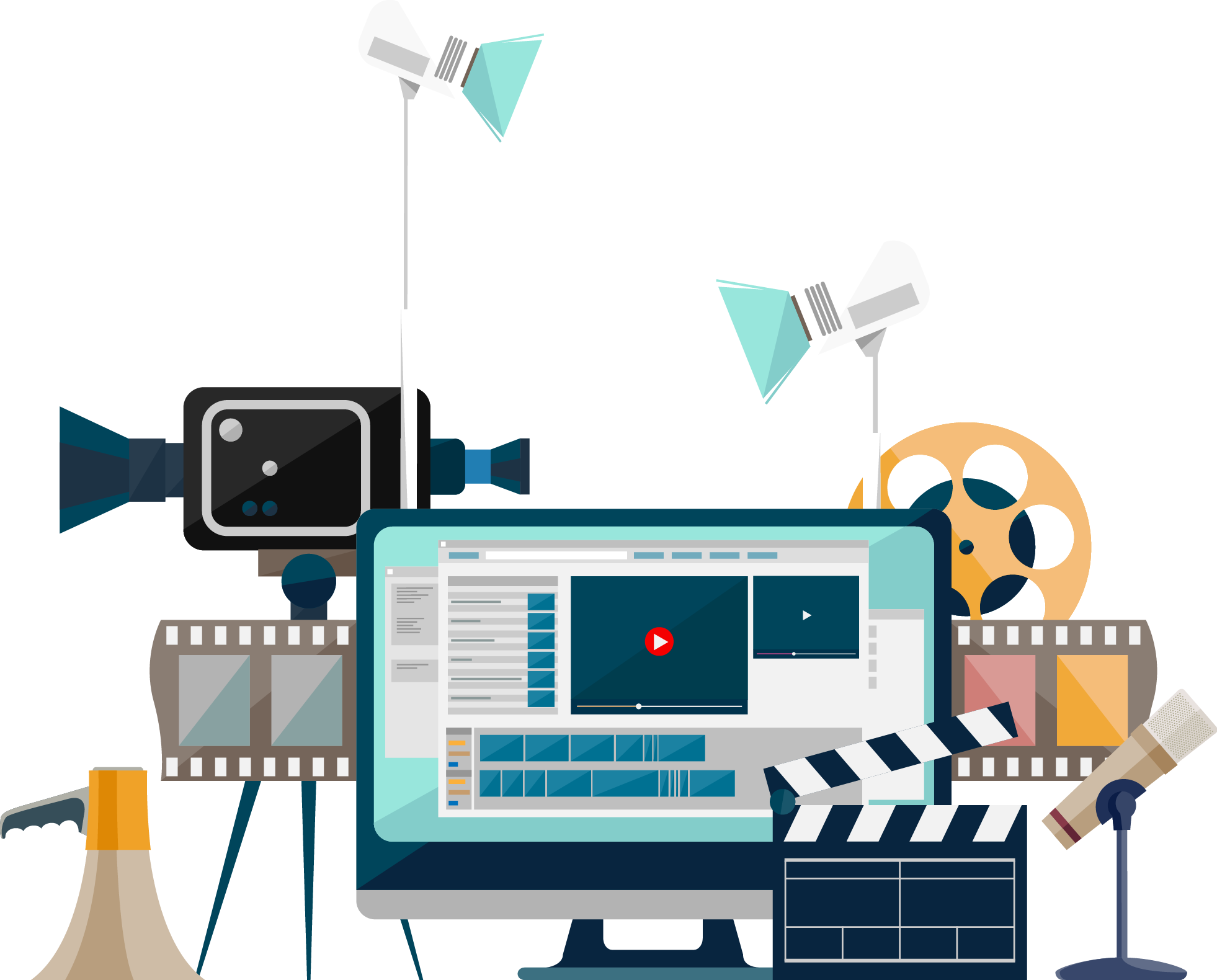 Marketing transparent video. Why quality production is