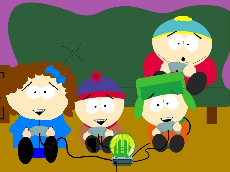 Video south park. Playing games photo fanpop