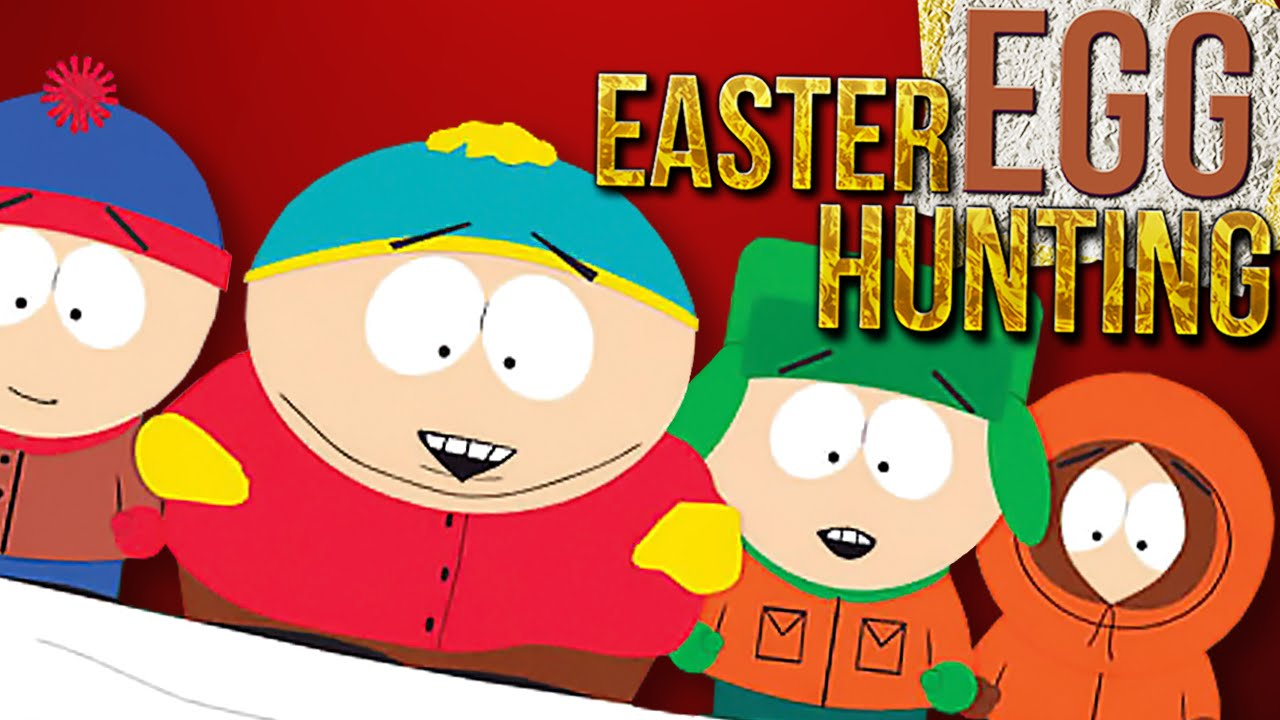 Video south park. Easter eggs egg hunting