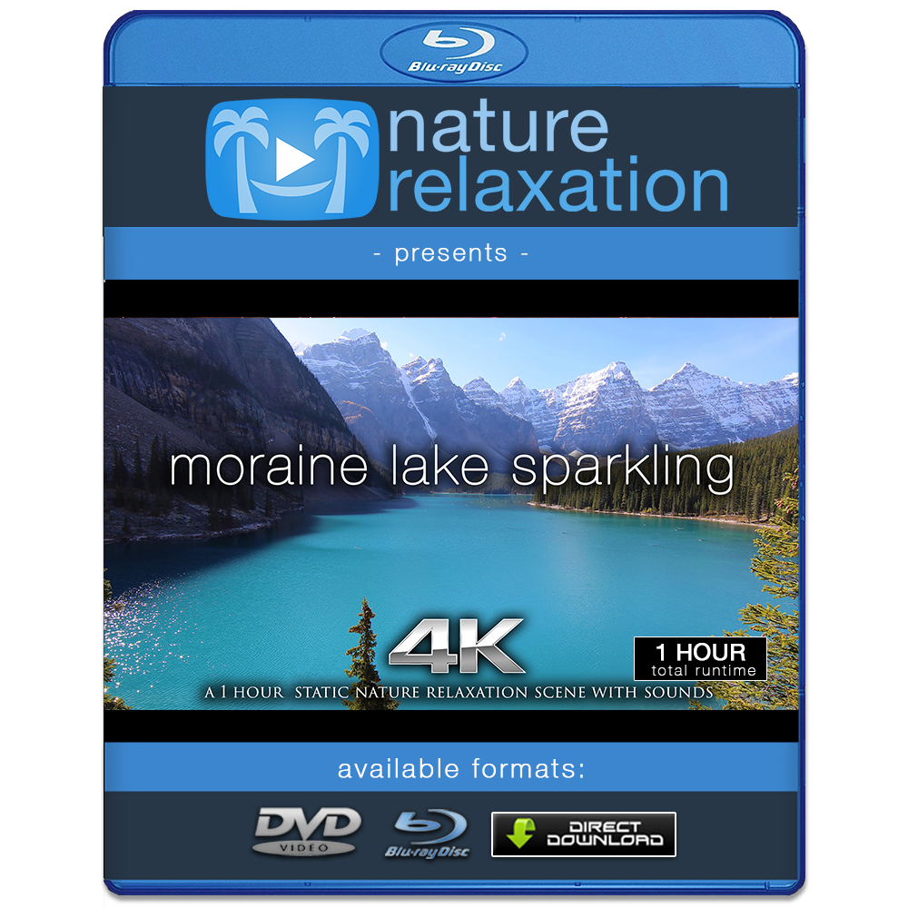 Video static png. Moraine lake sparkling hr