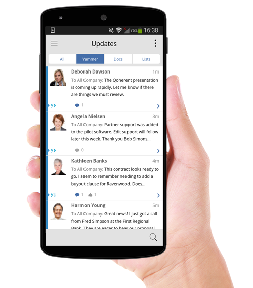View png on android. Sharepoint mobile app for