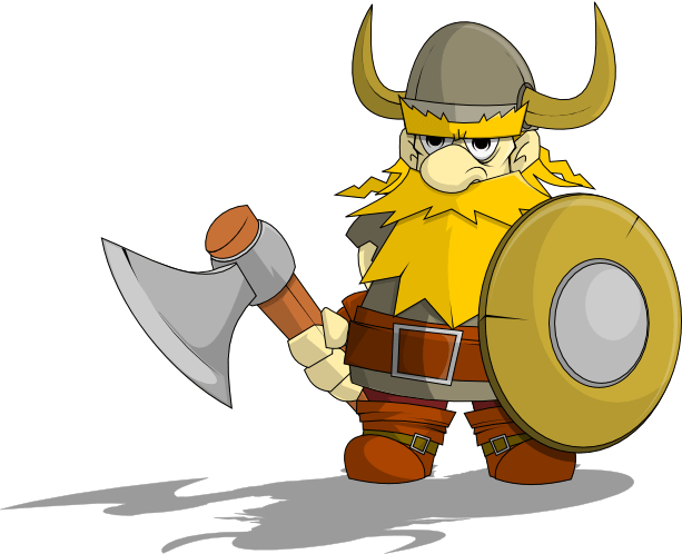 Viking clipart viking warrior. Transparent png stickpng