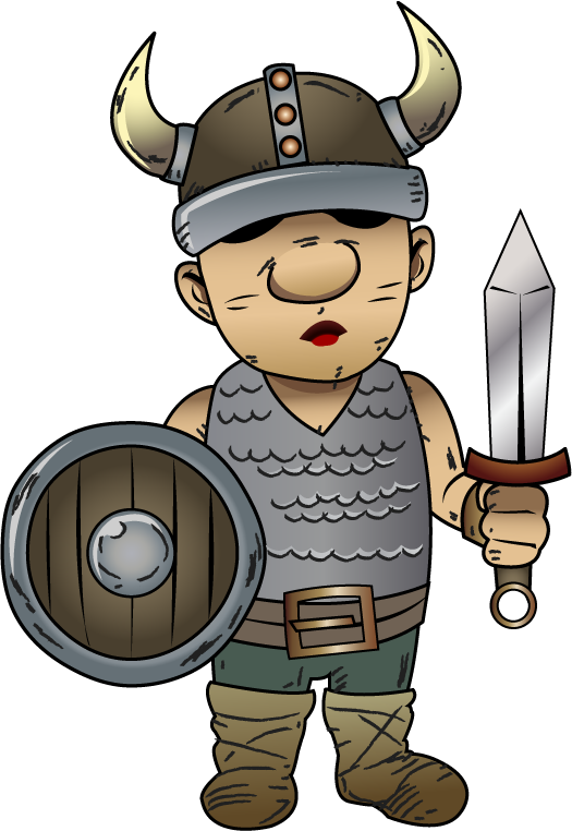 Viking clipart animated. Funny