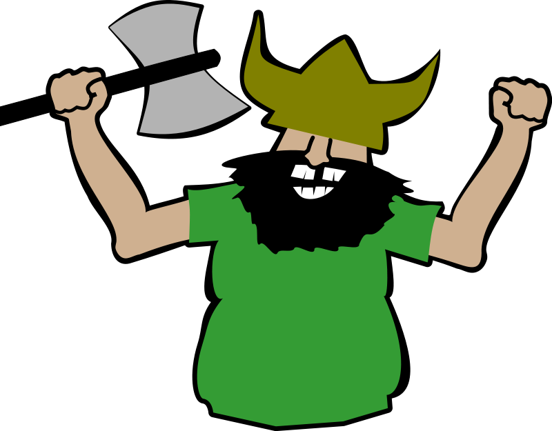 Warrior clipart viking man. Free christmas cliparts download