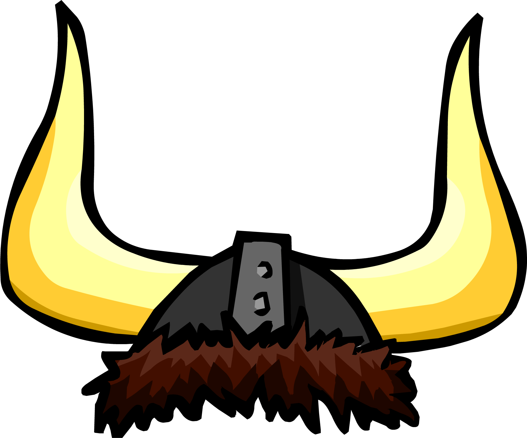 Viking hat png. Large helmet transparent stickpng