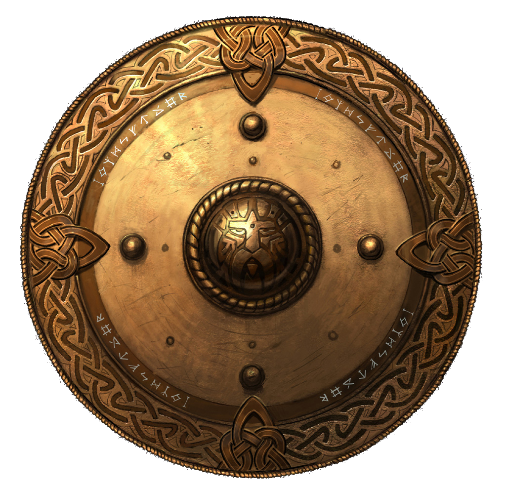 Vector viking shield. Shields gallery isolated stock