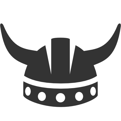Vikings svg helmet. Viking icon