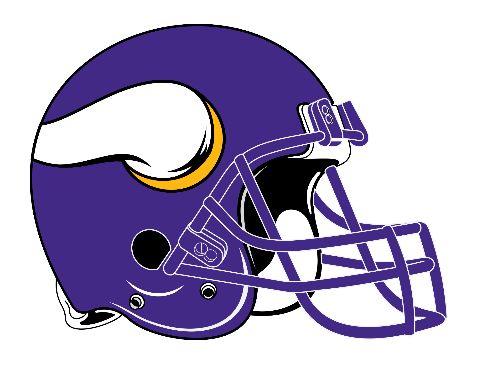 Vikings svg helmet. Viking football huge