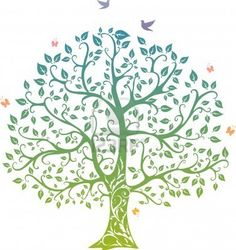 Vines clipart family tree. Green apples growth abstract