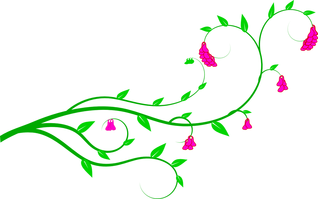 Vines svg flowery. Free flower vine clipart
