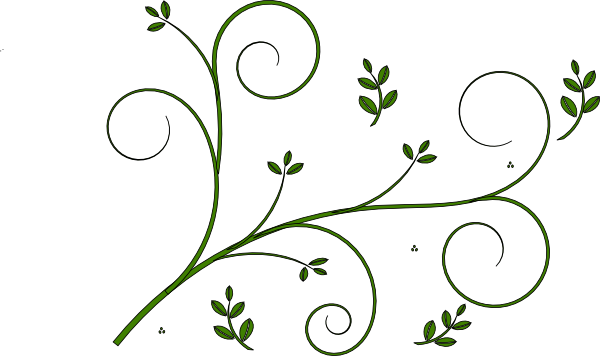 Vines vector png. Vine design clip art