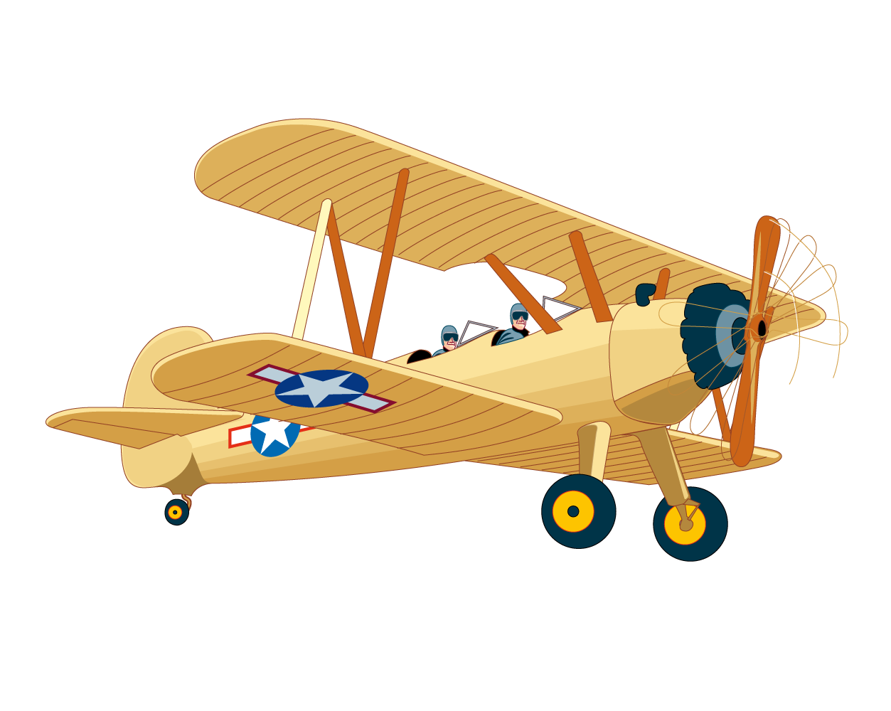 Aircraft vector vintage. Airplane png hd transparent
