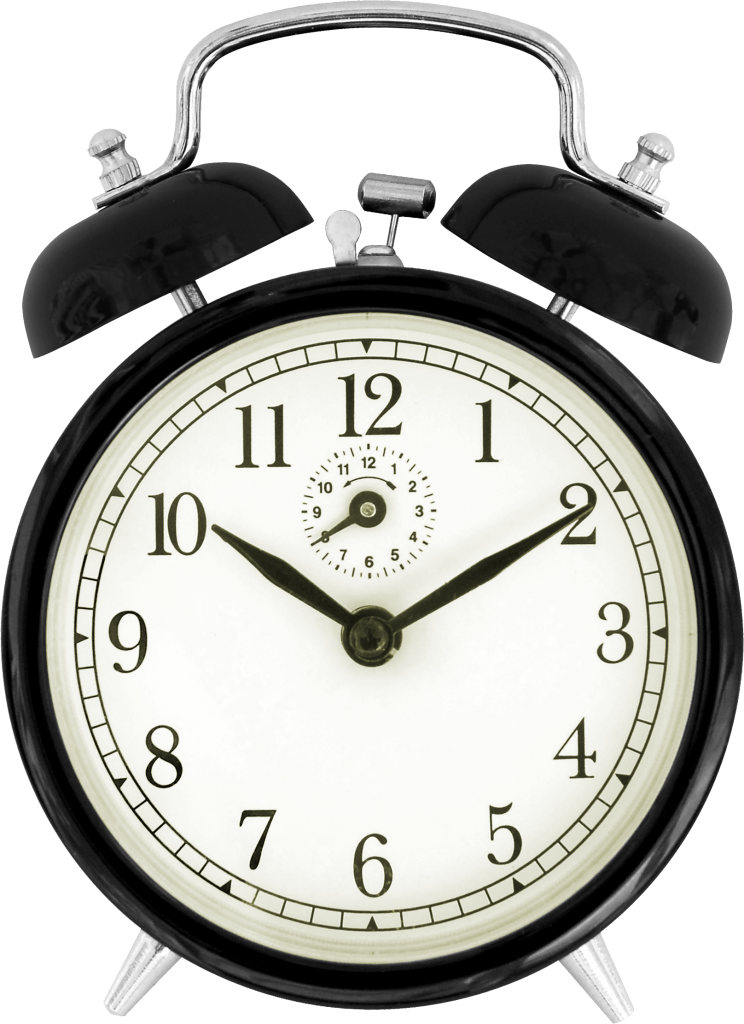 Vintage alarm clock png. Image vector clipart psd