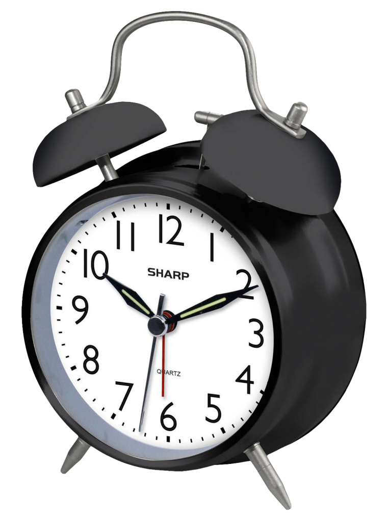 Vintage alarm clock png. File vector clipart psd