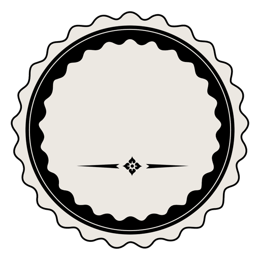 Vintage badge png. Label template transparent svg