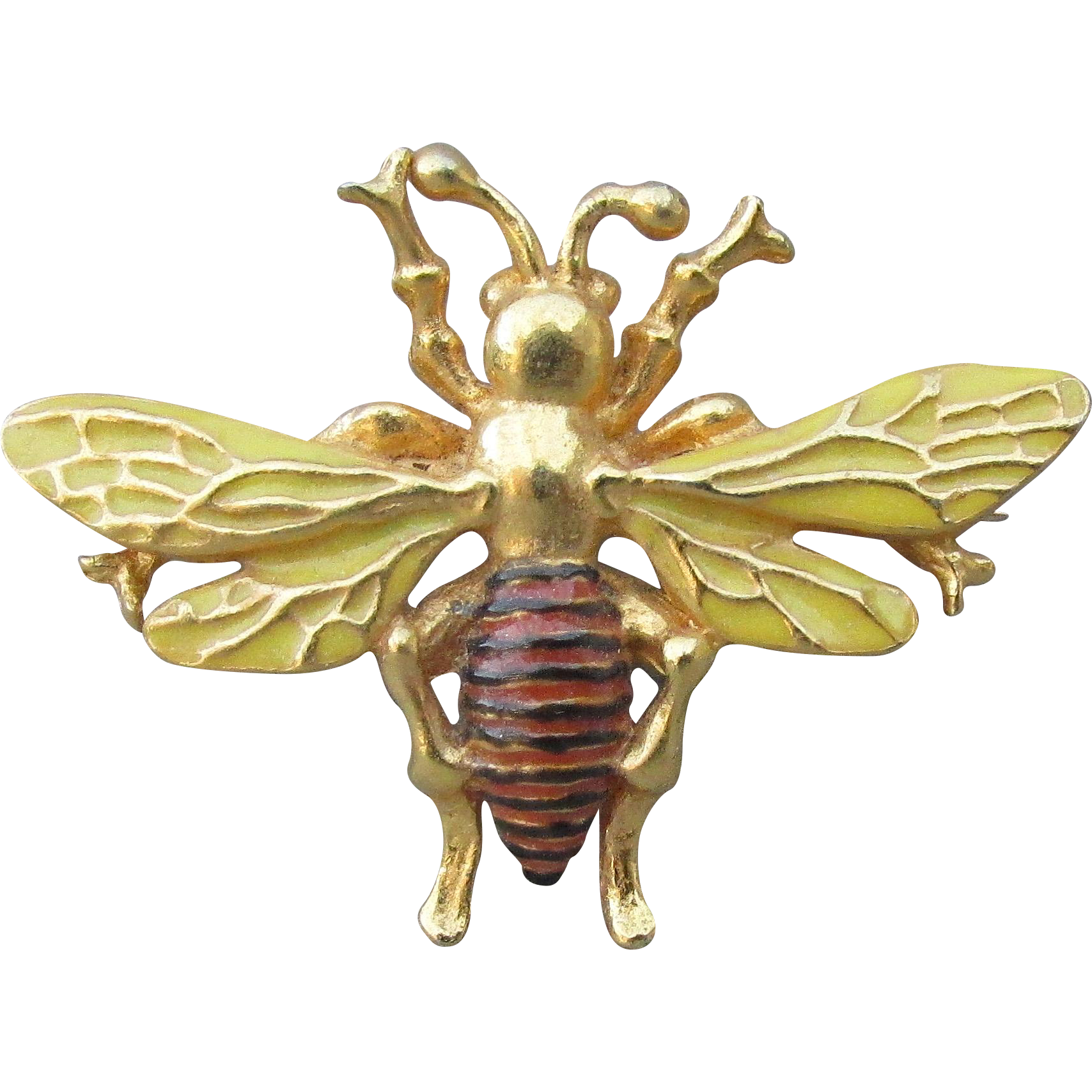 Vintage bee png. Signed mfa museum fine