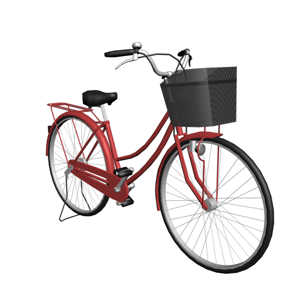 Vintage bicycle png. Women red photos