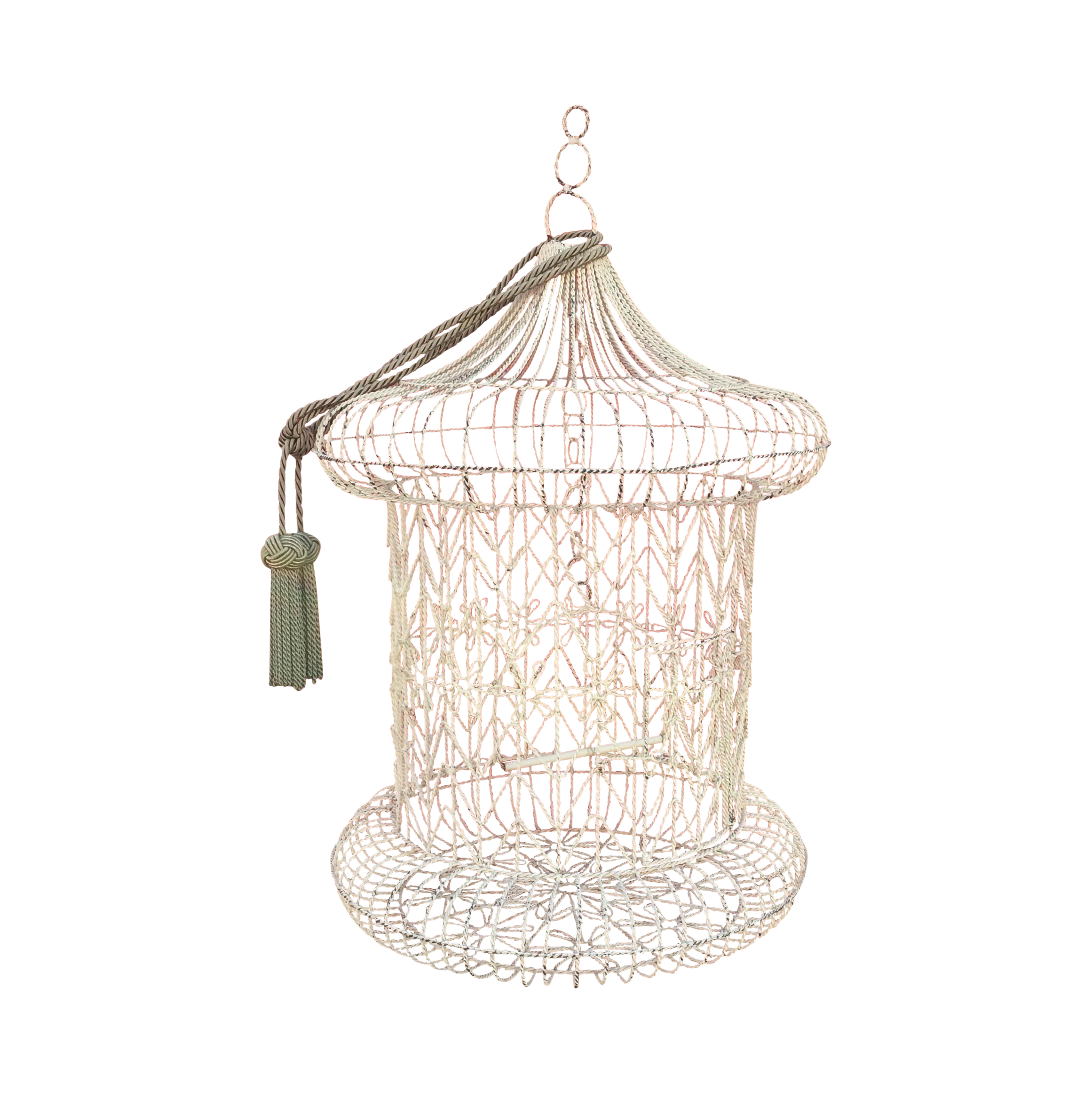 Vintage bird cage png. Shabby chic chairish