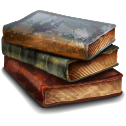 Vintage books png. Old images in collection