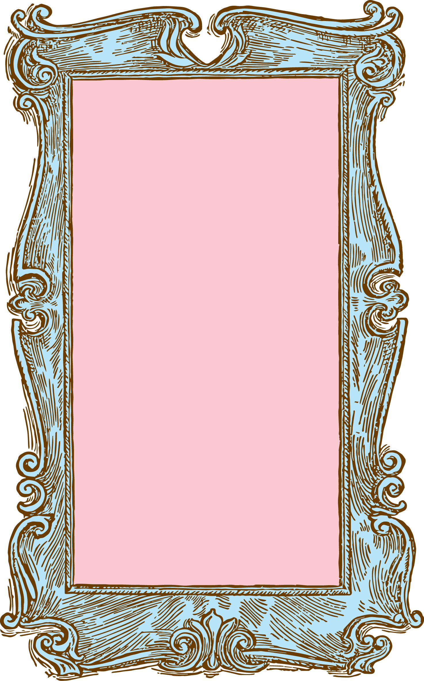 Free stock image wooden. Decorative vintage frame vector png stock