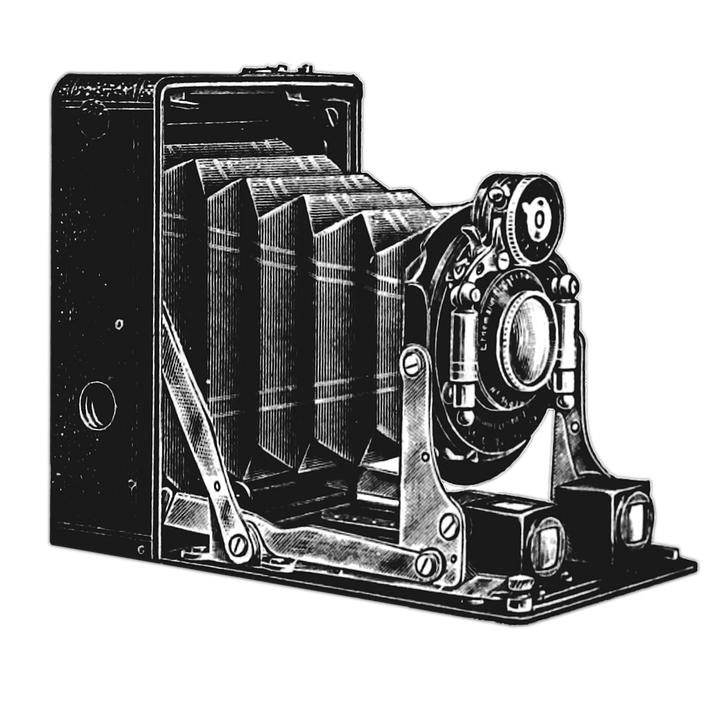 Vintage camera drawing png. Transparent images pluspng retro