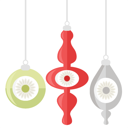 Vintage ornaments png. Christmas