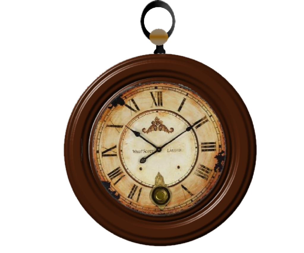 Vintage clock png. Image vector clipart psd